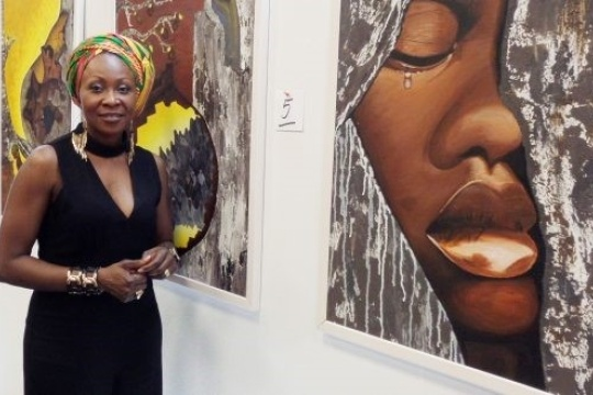 20190814_Germany-based Nigerian painter.jpg
